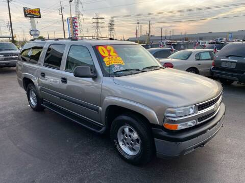 2002 Chevrolet Suburban for sale at Texas 1 Auto Finance in Kemah TX