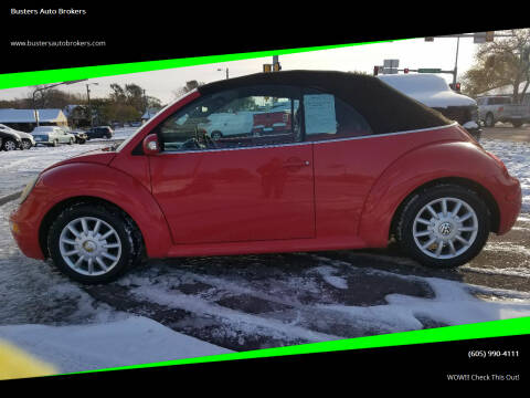 2004 Volkswagen New Beetle Convertible for sale at Busters Auto Brokers in Mitchell SD
