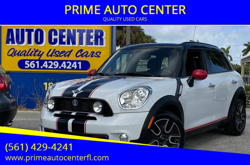 2012 MINI Cooper Countryman for sale at PRIME AUTO CENTER in Palm Springs FL