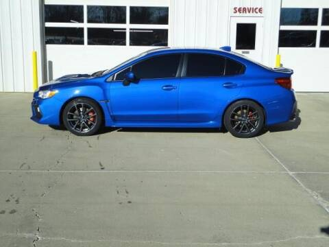 2018 Subaru WRX for sale at Quality Motors Inc in Vermillion SD