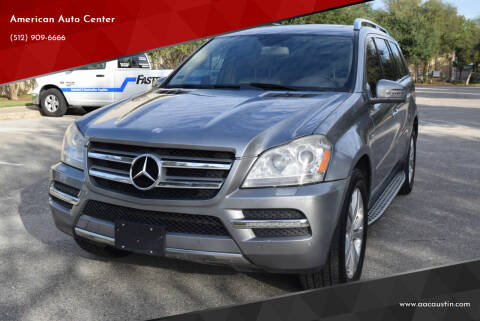 2012 Mercedes-Benz GL-Class for sale at American Auto Center in Austin TX