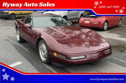 1993 Chevrolet Corvette for sale at Hyway Auto Sales in Lumberton NJ
