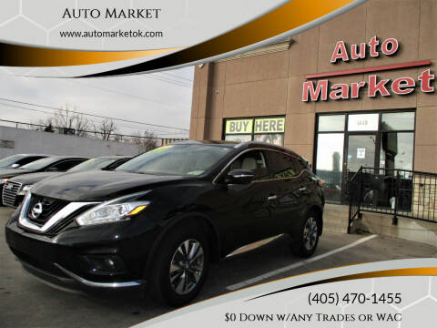 2015 Nissan Murano for sale at Auto Market in Oklahoma City OK