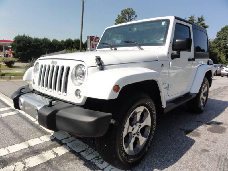 2017 Jeep Wrangler for sale in Lawrenceville, GA
