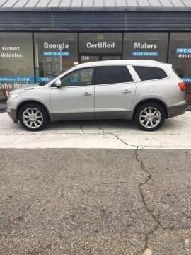 2011 Buick Enclave for sale at Georgia Certified Motors in Stockbridge GA