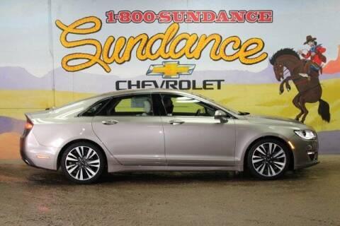2018 Lincoln MKZ for sale at Sundance Chevrolet in Grand Ledge MI