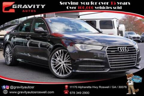2016 Audi A6 for sale at Gravity Autos Roswell in Roswell GA