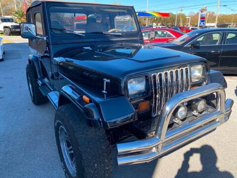 1989 Jeep Wrangler for sale at Z Motors in Chattanooga TN