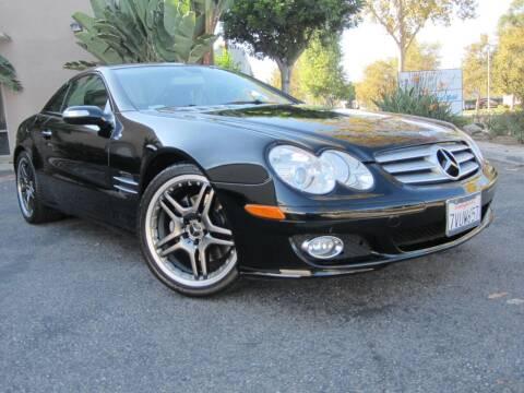 2007 Mercedes-Benz SL-Class for sale at ORANGE COUNTY AUTO WHOLESALE in Irvine CA
