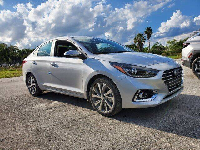 2022 Hyundai Accent for sale at DORAL HYUNDAI in Doral FL