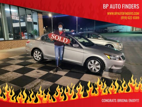 2008 Honda Accord for sale at BP Auto Finders in Durham NC