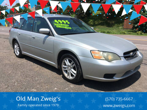 2005 Subaru Legacy for sale at Old Man Zweig's in Plymouth PA