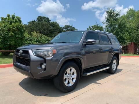 2014 Toyota 4Runner for sale at Dream Lane Motors in Euless TX