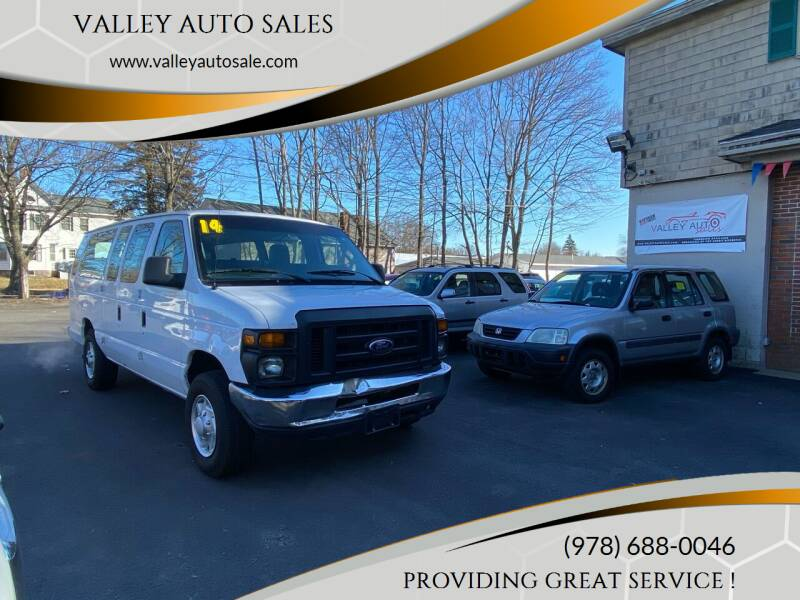 2014 Ford E-Series Cargo for sale at VALLEY AUTO SALES in Methuen MA