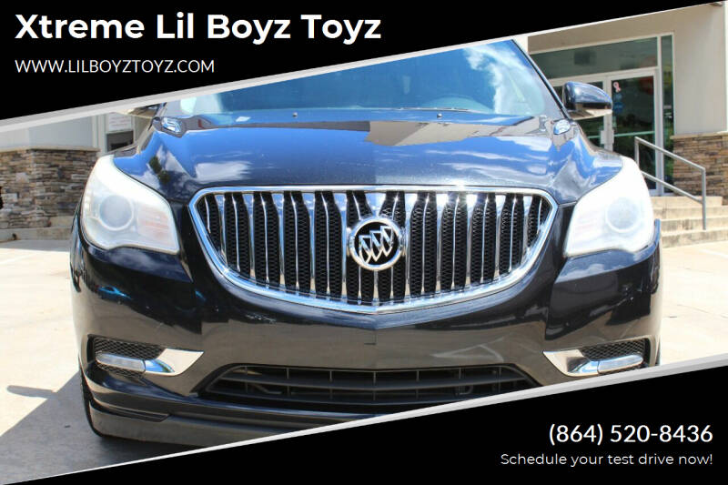 2013 Buick Enclave for sale at Xtreme Lil Boyz Toyz in Greenville SC