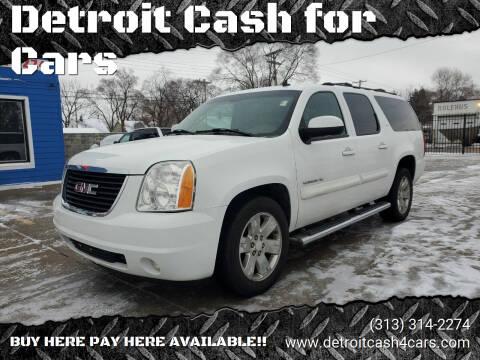 2007 GMC Yukon XL for sale at Detroit Cash for Cars in Warren MI