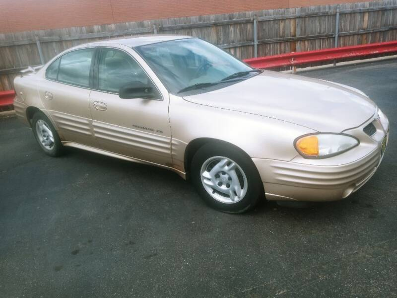 2001 Pontiac Grand Am for sale at ENZO AUTO in Parma OH