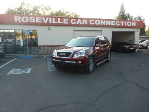 2010 GMC Acadia for sale at ROSEVILLE CAR CONNECTION in Roseville CA
