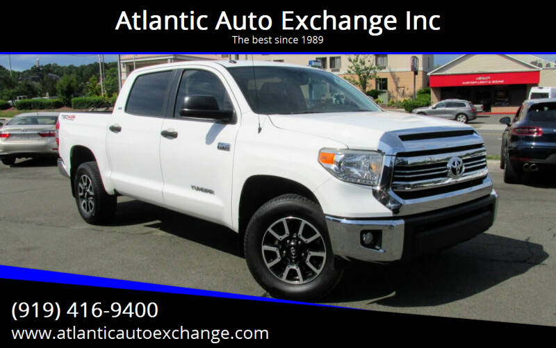 2016 Toyota Tundra for sale at Atlantic Auto Exchange Inc in Durham NC
