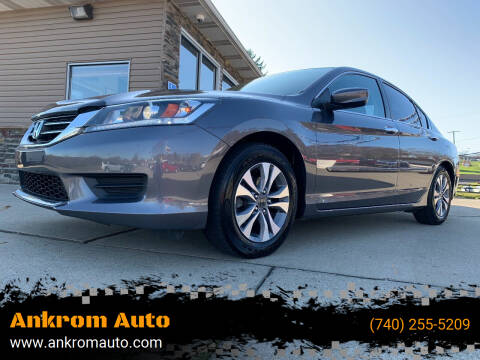 2013 Honda Accord for sale at Ankrom Auto in Cambridge OH
