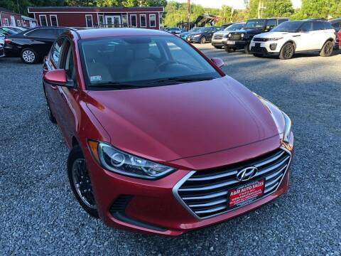2017 Hyundai Elantra for sale at A&M Auto Sales in Edgewood MD