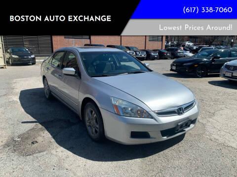 2007 Honda Accord for sale at Boston Auto Exchange in Boston MA