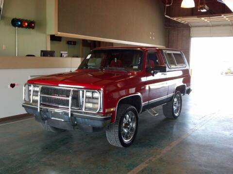 1990 GMC Jimmy for sale at CLASSIC MOTOR SPORTS in Winters TX