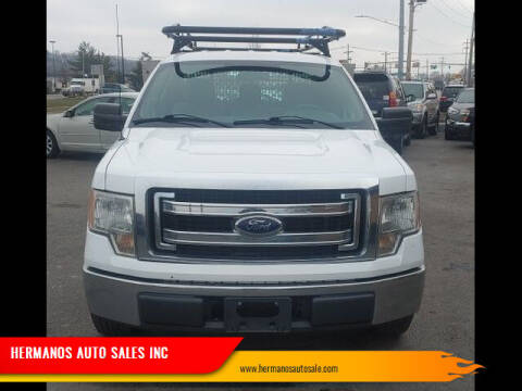 2014 Ford F-150 for sale at HERMANOS AUTO SALES INC in Hamilton OH