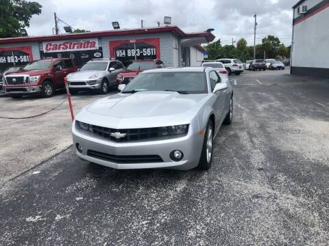 2010 Chevrolet Camaro for sale at CARSTRADA in Hollywood FL