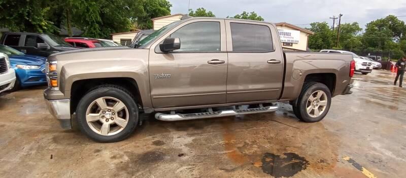 2015 Chevrolet Silverado 1500 for sale at AUTOTEX FINANCIAL in San Antonio TX