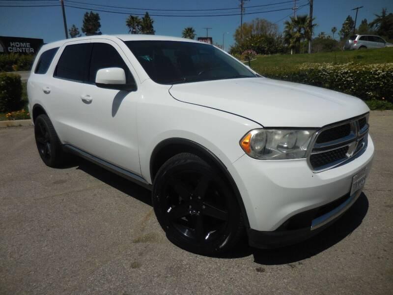 2013 Dodge Durango for sale at ARAX AUTO SALES in Tujunga CA