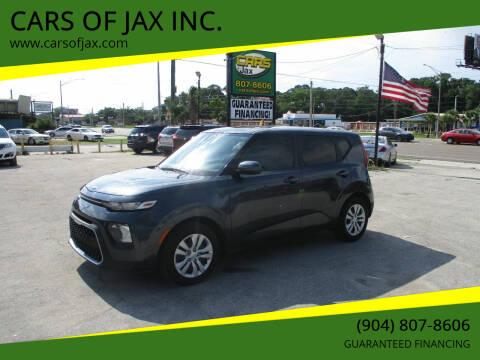2020 Kia Soul for sale at CARS OF JAX INC. in Jacksonville FL