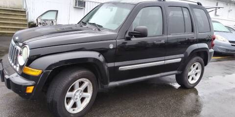 2007 Jeep Liberty for sale at JG Motors in Worcester MA