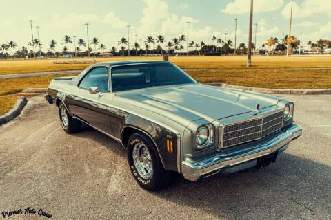 1974 Chevrolet El Camino for sale at Premier Auto Group of South Florida in Wellington FL