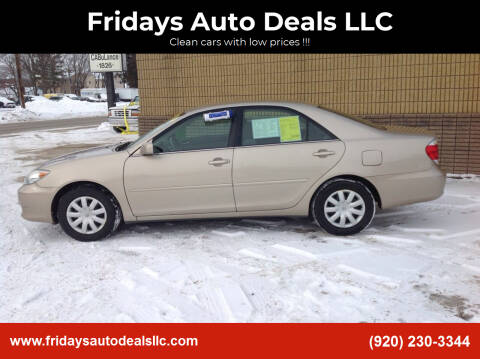 2005 Toyota Camry for sale at Fridays Auto Deals LLC in Oshkosh WI