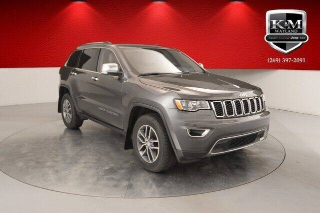 2017 Jeep Grand Cherokee for sale at K&M Wayland Chrysler  Dodge Jeep Ram in Wayland MI