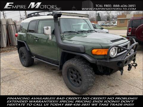 2014 Toyota FJ Cruiser for sale at Empire Motors LTD in Cleveland OH