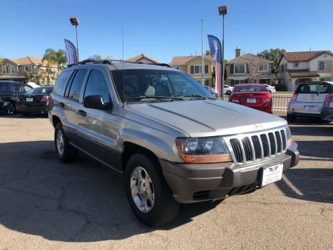 2001 Jeep Grand Cherokee for sale at Inland Motors LLC in Riverside CA