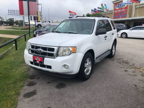 2011 Ford Escape for sale at FREDY CARS FOR LESS in Houston TX