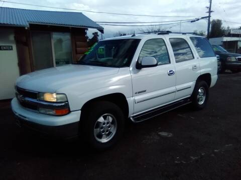 2003 Chevrolet Tahoe for sale at Larry's Auto Sales Inc. in Fresno CA