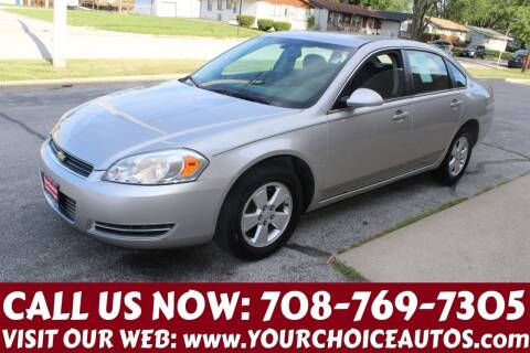 2008 Chevrolet Impala for sale at Your Choice Autos in Posen IL