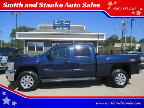 2012 Chevrolet Silverado 2500HD for sale at Smith and Stanke Auto Sales in Sturgis MI
