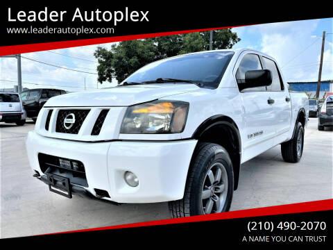 2012 Nissan Titan for sale at Leader Autoplex in San Antonio TX
