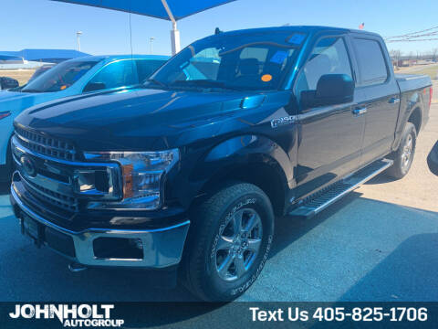 2019 Ford F-150 for sale at JOHN HOLT AUTO GROUP, INC. in Chickasha OK