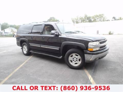 2005 Chevrolet Suburban for sale at Lee Motor Sales Inc. in Hartford CT