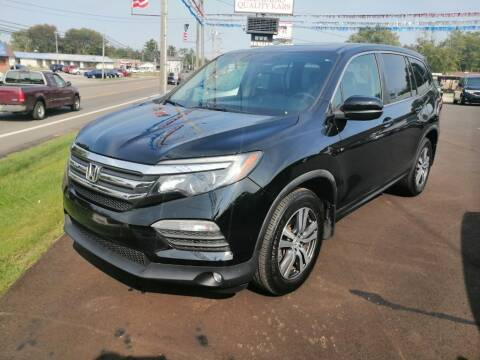 2016 Honda Pilot for sale at KRIS RADIO QUALITY KARS INC in Mansfield OH