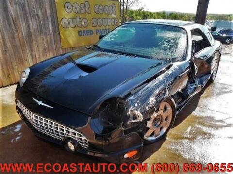 2002 Ford Thunderbird for sale at East Coast Auto Source Inc. in Bedford VA