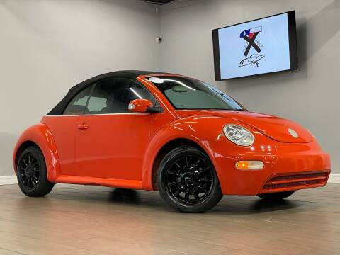 2005 Volkswagen New Beetle Convertible for sale at TX Auto Group in Houston TX