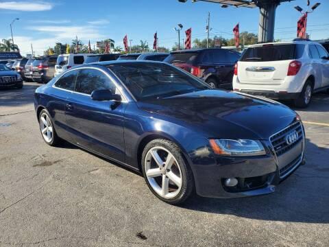 2010 Audi A5 for sale at America Auto Wholesale Inc in Miami FL