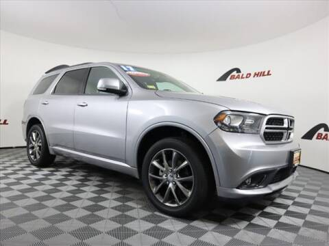 2017 Dodge Durango for sale at Bald Hill Kia in Warwick RI